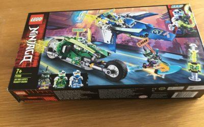 Ninjago Jay and Lloyd's velocity Racers 71709