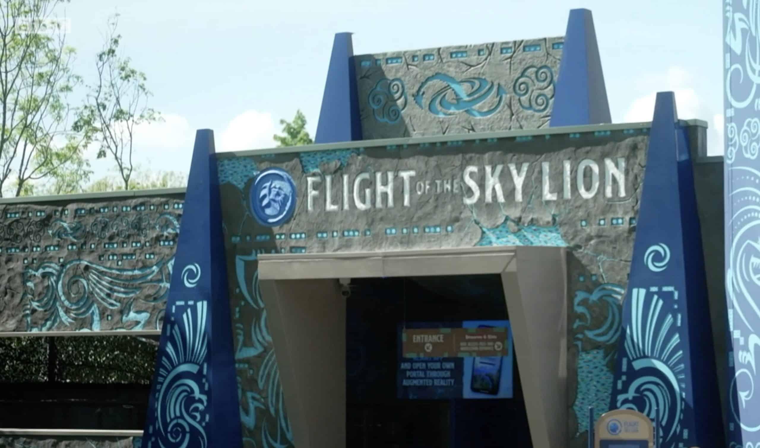 Flight the Sky Lion at Lego Land Winsor